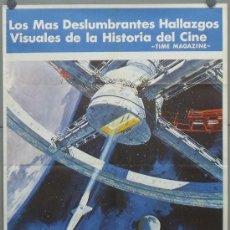 Cine: OW68 2001 UNA ODISEA DEL ESPACIO STANLEY KUBRICK POSTER ORIGINAL 70X100 ESTRENO. Lote 71347638