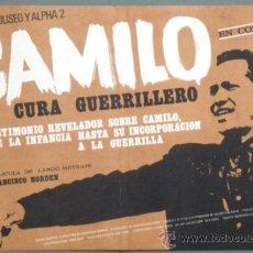 Cine: OX00 CAMILO EL CURA GUERRILLERO FRANCISCO NORDEN CINE COLOMBIANO POSTER ORIGINAL 33X49 ESTRENO. Lote 31045367
