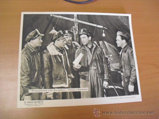 Cine: 12 carteles de la pelicula el gran segreto,con la funda original MGM ver fotos - Foto 2 - 31080833