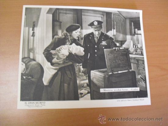 Cine: 12 carteles de la pelicula el gran segreto,con la funda original MGM ver fotos - Foto 4 - 31080833
