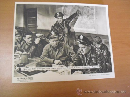 Cine: 12 carteles de la pelicula el gran segreto,con la funda original MGM ver fotos - Foto 5 - 31080833