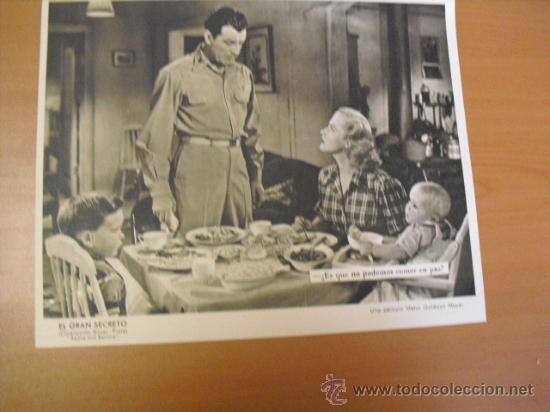 Cine: 12 carteles de la pelicula el gran segreto,con la funda original MGM ver fotos - Foto 7 - 31080833