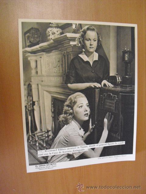 Cine: 12 carteles de la pelicula el gran segreto,con la funda original MGM ver fotos - Foto 9 - 31080833