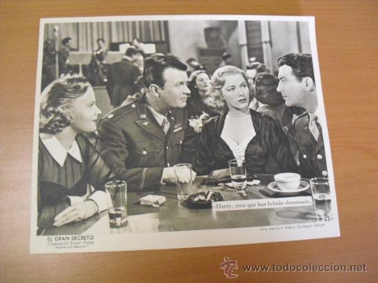 Cine: 12 carteles de la pelicula el gran segreto,con la funda original MGM ver fotos - Foto 10 - 31080833