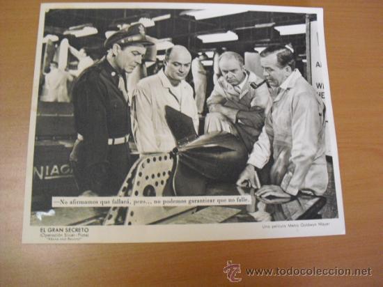 Cine: 12 carteles de la pelicula el gran segreto,con la funda original MGM ver fotos - Foto 11 - 31080833