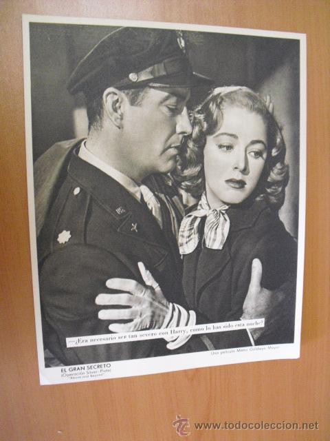 Cine: 12 carteles de la pelicula el gran segreto,con la funda original MGM ver fotos - Foto 12 - 31080833