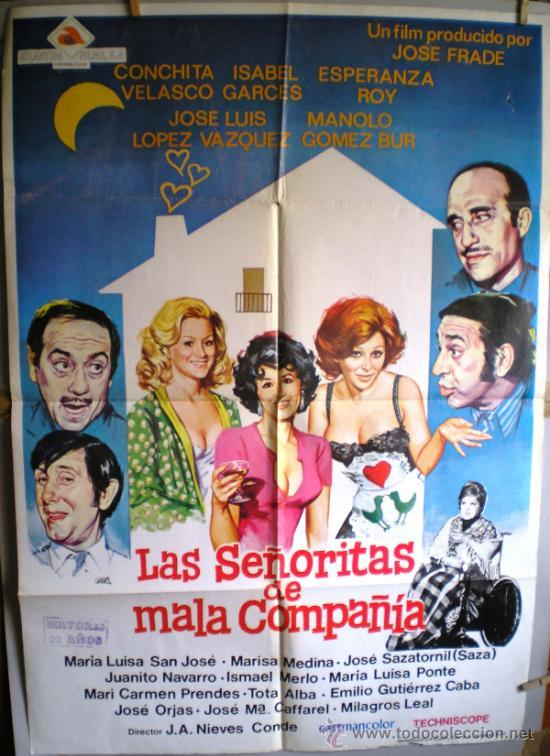 cartel de cine  las señoritas de mala compañía - Comprar Carteles y ... 03847dcd3c