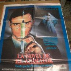 Cine: POSTER DE CINE ORIGINAL: LA NOVIA DE REANIMATOR. 70X100CM. Lote 31268063