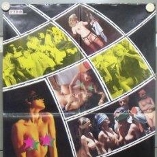 Cine: OY36 EMANUELLE EN LAS NOCHES PORNO DEL MUNDO JOE D'AMATO LAURA GEMSER POSTER ORIGINAL ITALIANO 68X94. Lote 31271518