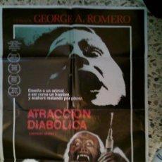 Cine: ATRACCION DIABOLICA - 72X100 - GEORGE A.ROMERO. Lote 31272544
