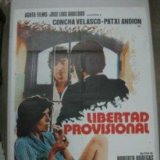 Cine: LIBERTAD PROVISIONAL - CONCHA VELASCO, PATXI ANDION - AÑO 1976. Lote 52567645