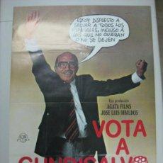 Cine: VOTA A GUNDISALVO - ANTONIO FERRANDIS, EMILIO GUTIERREZ CABA, SILVIA TORTOSA - AÑO 1977. Lote 41376056