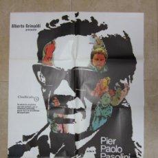 Cine: SALO O LOS 120 DIAS DE SODOMA, PIER PAOLO PASOLINI - AÑO 1980. Lote 96410959
