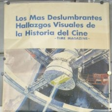 Cine: OY65 2001 STANLEY KUBRICK POSTER ORIGINAL 3 HOJAS 100X205 DEL ESTRENO. Lote 31543101