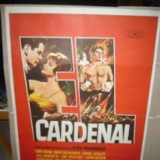 Cine: EL CARDENAL ROMY SCHNEIDER OTTO PREMINGER MAC POSTER ORIGINAL 70X100. Lote 31561100