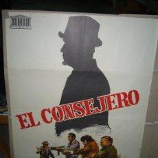 Cine: EL CONSEJERO TOMAS MILIAN FRANCISCO RABAL POSTER ORIGINAL 70X100 JANO. Lote 31561117