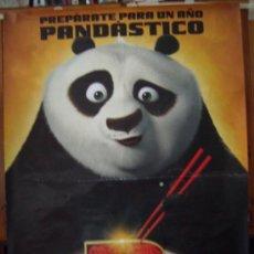 Cine: KUNG FU PANDA 2, DIBUJOS ANIMADOS. POSTER.. Lote 31616525