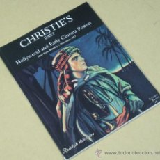Cine: HOLLYWOOD AND EARLY CINEMA POSTERS BY CHRISTIE'S LIBRO DE CARTELES DE PELICULAS . Lote 31667962