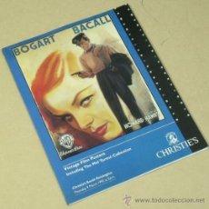 Cine: VINTAGE FILM POSTERS MEL TORME COLLECTION LIBRO CATALOGO CHRISTIE'S DE CARTELES DE PELICULAS . Lote 31675372