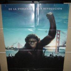 Cine: EL ORIGEN DEL PLANETA DE LOS SIMIOS POSTER ORIGINAL 70X100. Lote 31727574