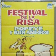 Cine: PA34 POPEYE Y SUS AMIGOS FESTIVAL DE CORTOS POSTER ORIGINAL 70X100 ESTRENO. Lote 31758679