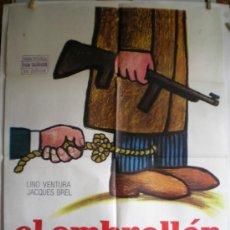 Cine: CARTEL DE CINE: EL EMBROLLÓN (100 X 70 CM.). Lote 31865282