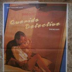 Cine: QUERIDO DETECTIVE. DENNIS QUAID, ELLEN BARKIN. AÑO 1987.. Lote 32068378
