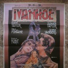 Cine: IVANHOE. ELIZABETH TAYLOR, ROBERT TAYLOR. AÑO 1981.. Lote 81811135