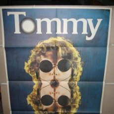 Cine: TOMMY KEN RUSSELL THE WHO POSTER ORIGINAL 70X100 ESTRENO. Lote 32077979