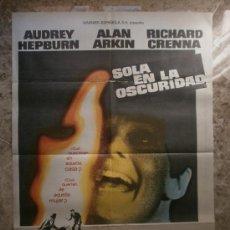 Cine: SOLA EN LA OSCURIDAD. AUDREY HEPBURN, ALAN ARKIN. AÑO 1980.. Lote 32081742