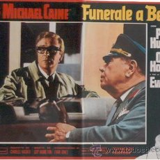 Cine: EI06D FUNERAL EN BERLIN HARRY PALMER MICHAEL CAINE SET DE 10 POSTERS ORIGINAL ITALIANO 47X68. Lote 32081860
