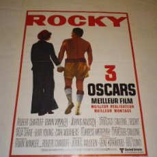 Cine: ROCKY .SYLVESTER STALLONE, TALIA SHIRE, BURGESS MEREDITH. Lote 32082852