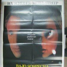 Cine: BAJO SOSPECHA - ROY SCHEIDER, MERYL STREEP - AÑO 1982. Lote 32090209