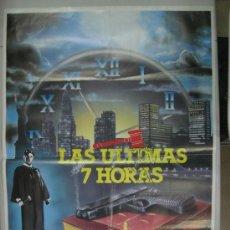Cine: LAS ULTIMAS 7 HORAS - BEAU BRIDGES - AÑOS 80-90. Lote 32092822