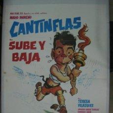 Cine: SUBE Y BAJA - CANTINFLAS - AÑOS 80. Lote 32093072