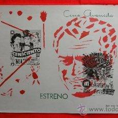 Cine: CARTELITO LOCAL EL CENICIENTO ESTE HOMBRE ES PELIGROSO, GILA (45X32), CINE AVENIDA REUS, 1955. Lote 32097255