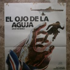 Cine: EL OJO DE LA AGUILA. DONALD SUTHERLAND, KATE NELLIGAN. AÑO 1981.. Lote 32110842