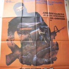 Cine: CARTEL DE CINE- MOVIE POSTER CARLOS EL TERRORISTA, 1980 70X100 CM. . Lote 32115243