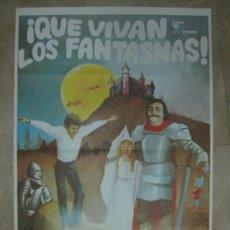 Cine: QUE VIVAN LOS FANTASMAS - DIRECTOR: OLDRICH LIPSKY - AÑOS 80. Lote 84396271