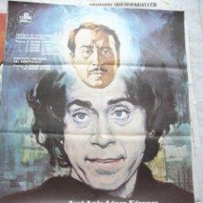 Cine: CARTEL DE CINE- MOVIE POSTER MI QUERIDA SEÑORITA, 1973. 70X100 CM. MONTALBAN. Lote 32138433