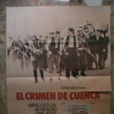 Cine: EL CRIMEN DE CUENCA. AMPARO SOLER LEAL, HECTOR ALTERIO. AÑO 1979.. Lote 32173777