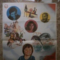 Cine: QUIERO SOÑAR. JUAN LUIS GALIARDO. AÑO 1980.. Lote 32174040