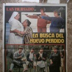 Cine: EN BUSCA DEL HUEVO PERDIDO. LAS HURTADO. . Lote 32174203