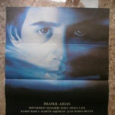 Cine: LA MUERTE DE MIKEL. IMANOL ARIAS, MONTSERRAT SALVADOR.. Lote 32175571