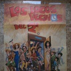 Cine: LOS LOCOS VECINOS DEL 2O. SYDNE ROME, SIMON ANDREU. . Lote 32176776