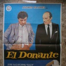 Cine: EL DONANTE. ANDRES PAJARES. AÑO 1985.. Lote 32176800
