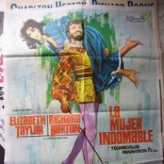 Cine: CARTEL DE CINE- MOVIE POSTER LA MUJER INDOMABLE, 70X100 CM. JANO. Lote 32177890