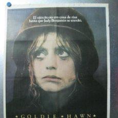 Cine: LA RECLUTA BENJAMIN - GOLDIE HAWN - AÑO 1981. Lote 32178759