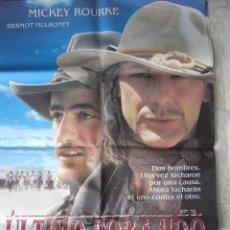 Cine: CARTEL DE CINE- MOVIE POSTER ULTIMO FORAJIDO 70X100 CM. . Lote 32179303