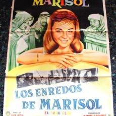 Cine: TOMBOLA (LOS ENREDOS DE MARISOL) 1962 (CARTEL ORIGINAL) MARISOL . Lote 32193094